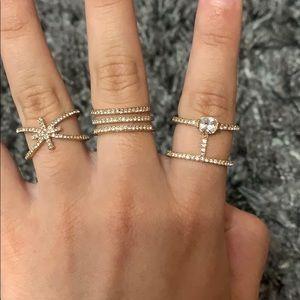 Jewelry - 3 ring bundle